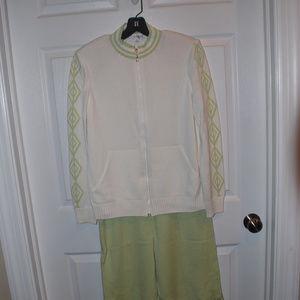 St John Sport Knit Outfit